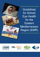 School Eye Health Guidelines for EMR Cover page