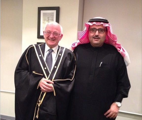 Prince Abdulaziz and IAPB Chair Mr.McMullan