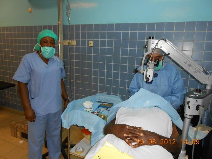 Cataract Surgeries in Cameroon